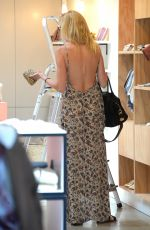KIMBERLY STEWART Shopping in West Hollywood 08/29/2016