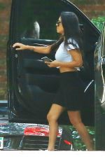 KOURTNEY KARDASHIAN Out and About in Los Angeles 08/25/2016