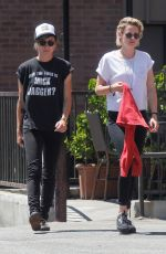 KRISTEN STEWART and ALICIA CARGILE Out in Los Angeles 08/11/2016