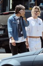 KRISTEN STEWART and ALICIA CARGILE Out in Los Angeles 08/27/2016