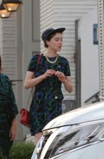KRISTEN STEWART and ST VINCENT Out and About in West Hollywood 08/30/2016