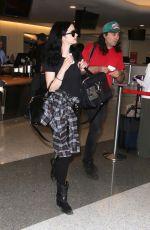KRYSTEN RITTER at Los Angeles International Airport in Los Angeles 08/22/2016