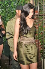 KYLIE JENNER at Il Cielo Restaurant in Los Angeles 08/01/2016