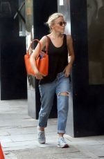KYLIE MINOGUE Out in West London 08/27/2016