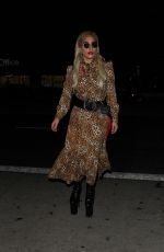 LADY GAGA Arrives at El Rey Theatre for Father John Misty