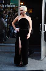 LADY GAGA Leaves a Studio in New York 08/03/2016