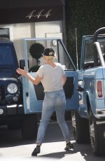 LADY GAGA Out and About in Los Angeles 08/11/2016
