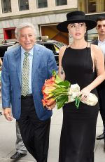 LADY GAGA Out and About in New York 08/03/2016