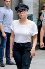 LADY GAGA Out and About in New York 08/05/2016