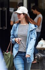 LANA DEL REY Out and About in New York 08/01/2016