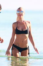 LAURA CREMASCHI in Bikini at a Beach in Miami 08/21/2016