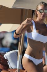 LAURA CREMASCHI in Bikini on Miami Beach 08/20/2016