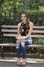 LAURA MARANO on the Set of a Photoshoot in New York 08/25/2016