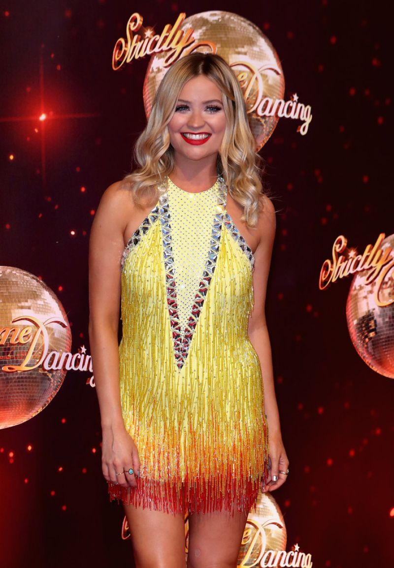 LAURA WHITMORE at Strictly Come Dancing 2016 Launch in Borehamwood 08/30/2016