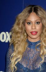 LAVERNE COX at Fox Summer TCA All-star Party in West Hollywood 08/08/2016