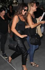 LEA MICHELE Arrives at Adele Concert at Staples Center in Los Angeles 08/13/2016