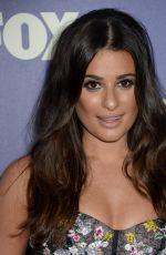 LEA MICHELE at Fox Summer TCA All-star Party in West Hollywood 08/08/2016