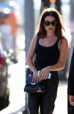 LEA MICHELE Leaves a Photoshoot in Hollywood 08/13/2016