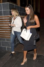 LEA MICHELE Leaves Roku in West Hollywood 08/21/2016