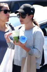 LEA MICHELE Ous Shopping in Brentwood 08/18/2016