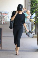 LEA MICHELE Out and About in Brentwood 08/11/2016