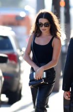 LEA MICHELE Out and About in Hollywood 08/13/2016