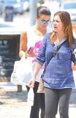 LEA MICHELE Out and About in Los Angeles 08/26/2016