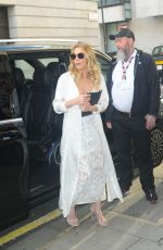 LEANN RIMES Arrives at BBC Radio 2 in London 08/05/2016
