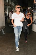 LEANN RIMES in jeans at LAX Airport in Los Angeles 08/15/2016
