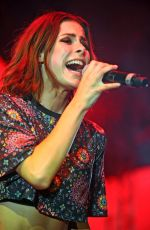 LENA MEYER-LANDRUT Performs at a Concert at Europa Park in Rust 08/06/2016
