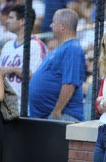 LESLIE MANN at New York Yankees v New York Mets 08/02/2016