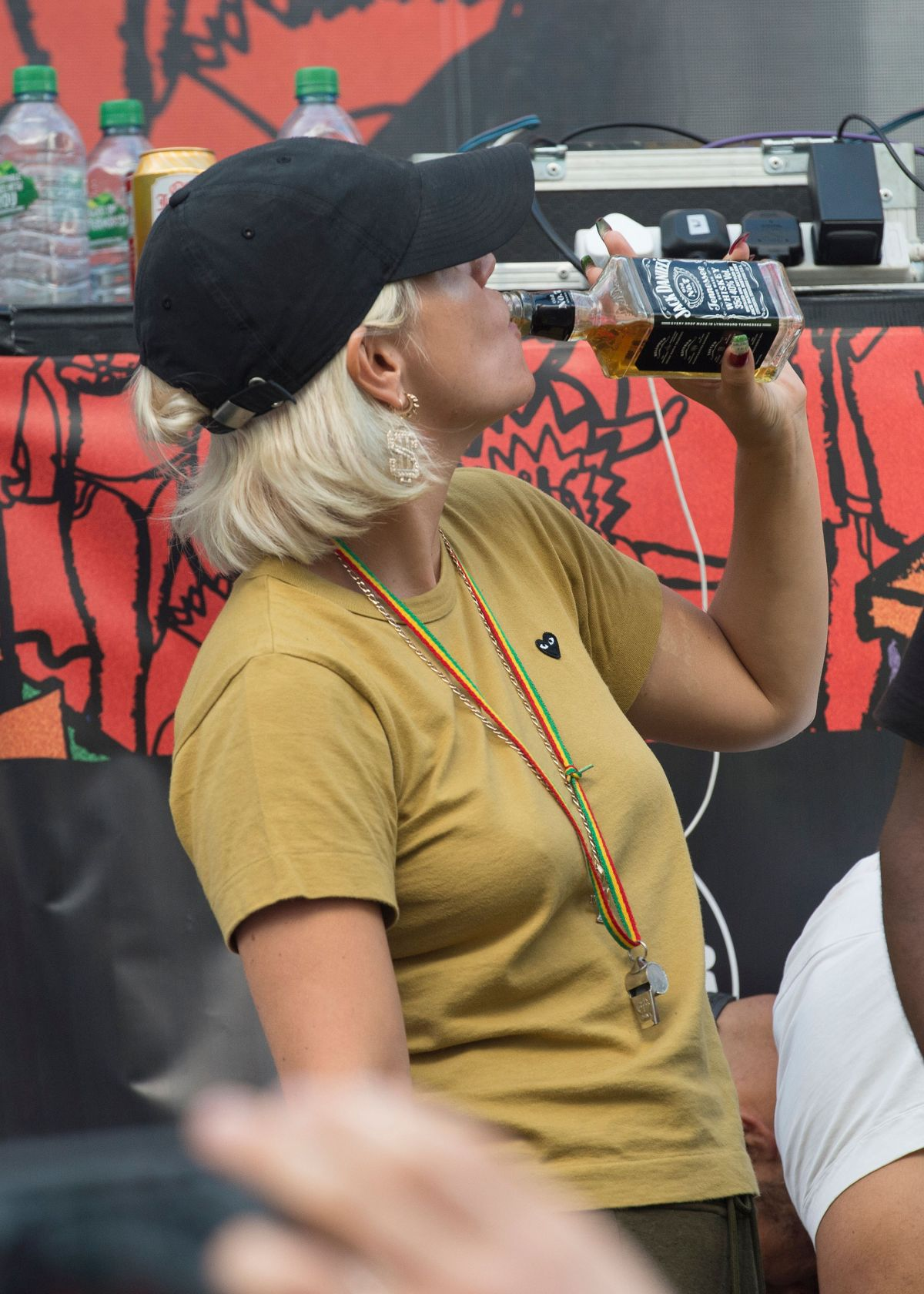 LILY ALLEN at Notting Hill Carnival in London 08/29/2016