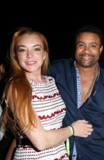 LINDSAY LOHAN at a Birthday Party in Porto Cervo 08/08/2016