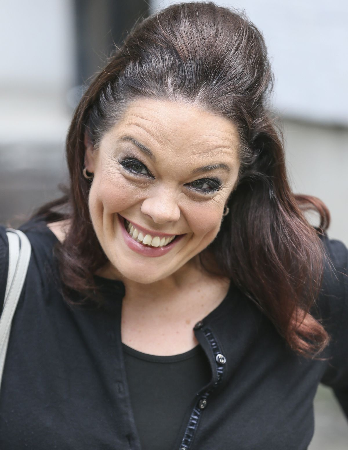 LISA RILEY at ITV Studios in London 08/16/2016