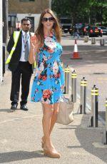 LISA SNOWDON at ITV Studios in London 08/09/2016