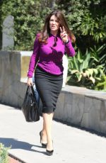 LISA VANDERPUMP Out and About in West Hollywood 08/12/2016