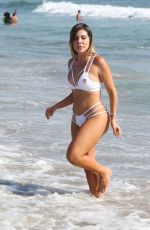 LIZIANE GUTIERREZ in Bikini on the Beach in Los Angeles 07/29/2016