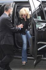 LONI ANDERSON at LAX Airport in Los Angeles 08/12/2016