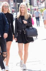 LOTTIE MOSS Out and Anout in London 08/13/2016