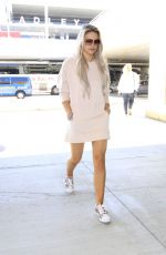 LOUISA JOHNSON at LAX Airport in Los Angeles 08/14/2016