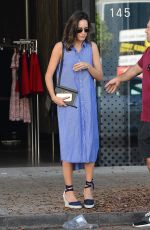 LOUISE ROE Out for Shopping in West Hollywood 08/09/2016