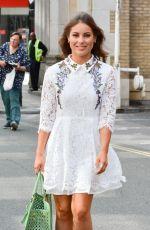 LOUISE THOMPSON Leaves Sunday Brunch TV Studios in London 08/07/2016