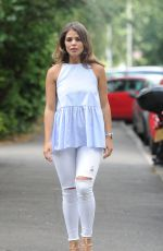 LYDIA BRIGHT, GEORGIA KOUSOULOU and CHLOE LEWIS Out in Essex 08/06/2016