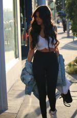 MADISON BEER Out and About in Los Angeles 08/12/2016