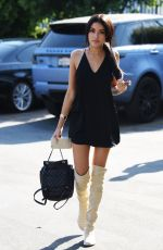 MADISON BEER Out and About in Los Angeles 08/28/2016