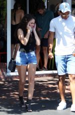 MADISON PETTIS Out for Lunch in West Hollywood 07/28/2016