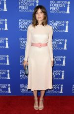 MANDY MOORE at Hollywood Foreign Press Association