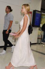 MARGOT ROBBIE Arrives at Airport in Tokyo 08/24/2016