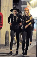 MARGOT ROBBIE, CARA DELEVINGNE and AMBER HEARD Night Out in London 08/19/2016