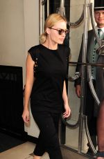 MARGOT ROBBIE Leaves Her Hotel in London 08/06/2016